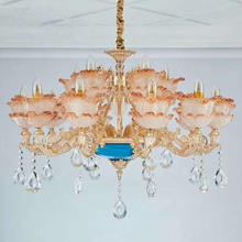 Hot selling crystal luxury led chandelier  antique pendant lamp ceiling light  crystal chandelier lighting