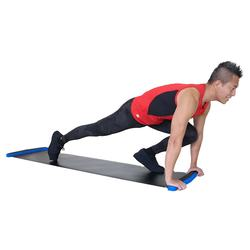 Cheap price body workout hockey fitness sliding board for Ice skating play