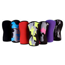 1 Pair Knee Sleeves Support Compression for Weightlifting Powerlifting 7mm Neoprene knee Sleeve for the Best Squats