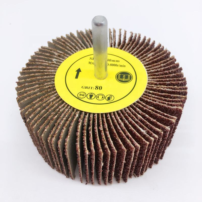 high quality abrasive cloth flap disc for wood polishing