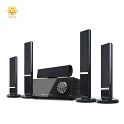3D Surround sound 6 speakers wireless bluetooth home theatre system 5.1