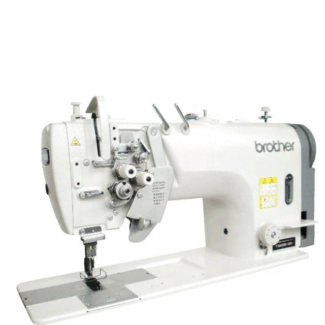 Japan Brand New Brother 8750 2-needle Split Needle Bar Lock Stitch Sewing Machine With Large Hook