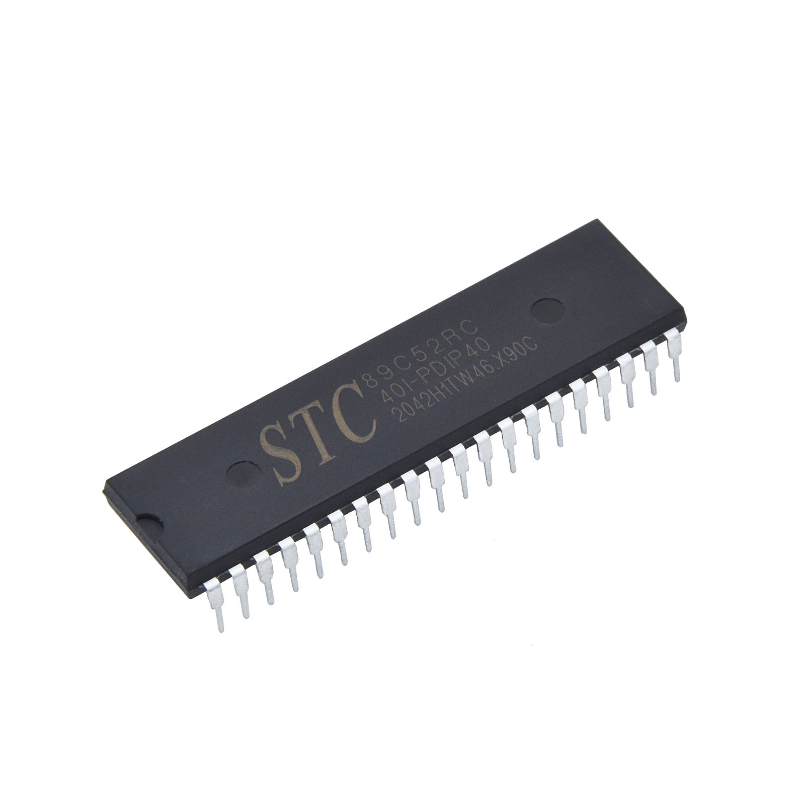 Programmer Microcontroller At89s52-24pu Mcu Inline Dip40 Ic Chip At89s52