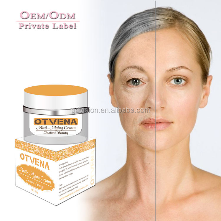 factory wholesale oily skin anti wrinkle anti-aging cream facial with peptides