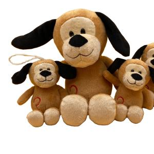 Soft stuffed animal plush toy dog