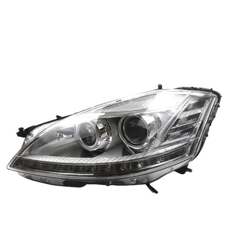PORBAO Old Style Auto Parts Front Headlight for W221 HID Xenon 2010 Year