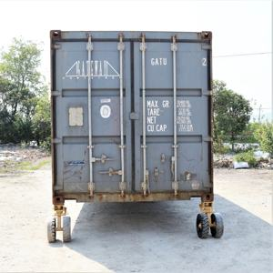 STARDRAWING rubber tire ISO shipping container castor wheels