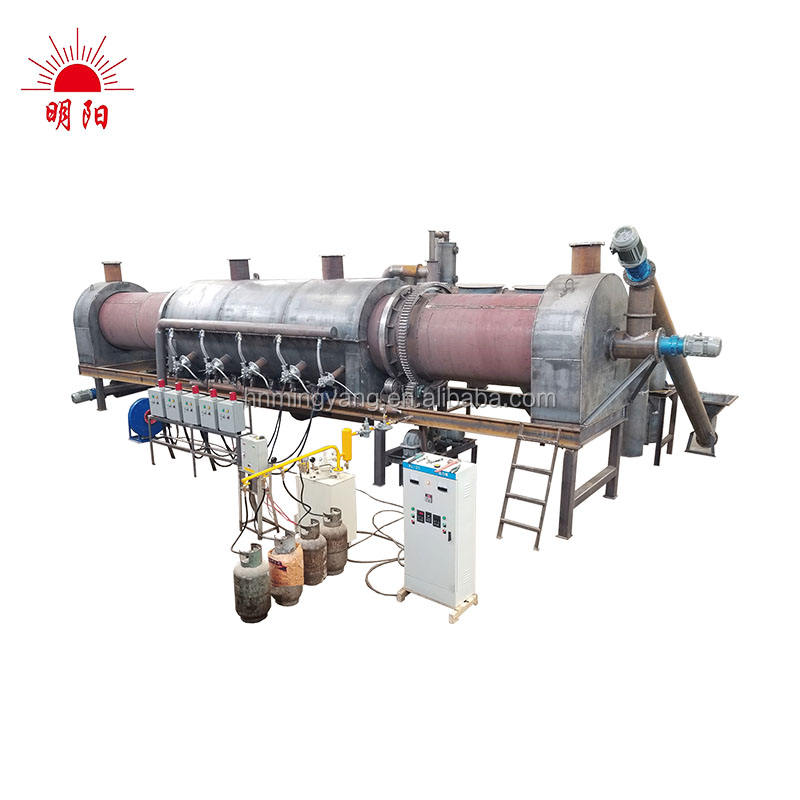 Carbonization Kiln Sawdust Carbonized Machine Charcoal Stove Charcoal Making Furnace