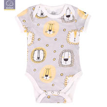 Elinfant baby 100% cotton wholesale cute lovely infant rompers newborn baby clothes baby rompers short sleeve