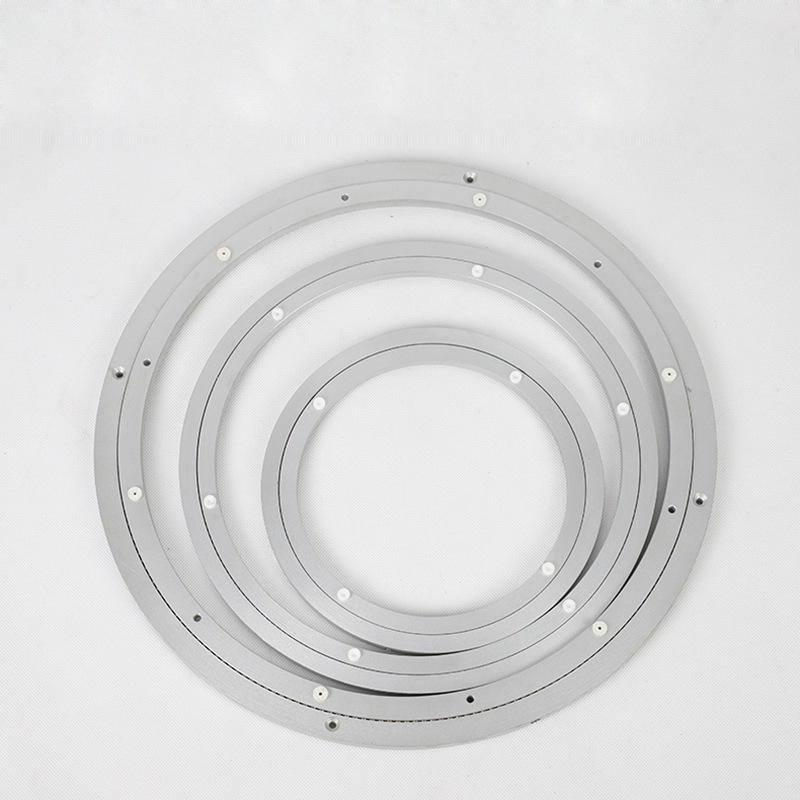 Aluminum Alloy swivel plate lazy susan silent swivel plate