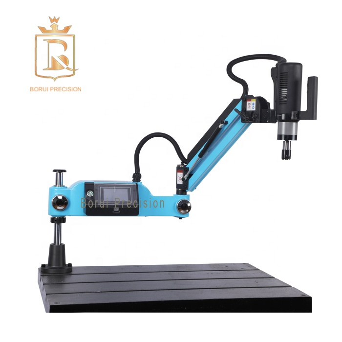 110-240V M24 Touch screen vertical section arm TAPPING MACHINE