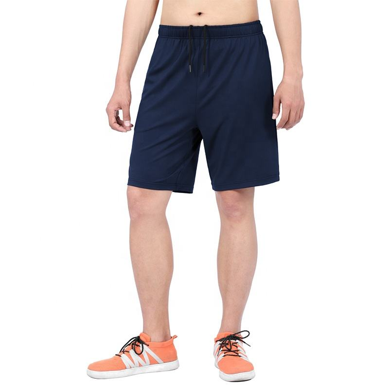 2020 Wholesale Men's Dry Fit Running Shorts Elastic Waist Summer Gym Workout Athletic shorts with Pockets