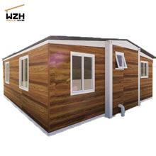Australia Standard Luxury Modular 2 Bedroom Expandable Container House  With Living Room and Bathroom