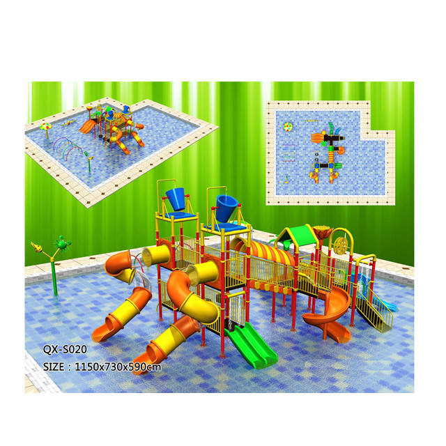 Big Pool Children Water Park QX-S020/ Water Park Equipment Price/ Waterpark Hotels