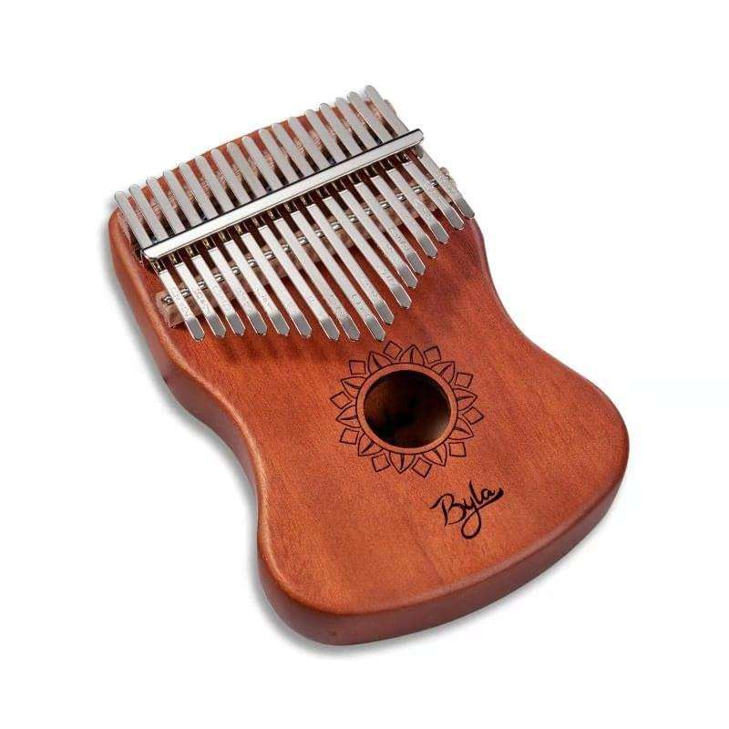 byla portable Hand Box Drum Percussion Musical Instrument mbira best kalimba thhumb piano bag