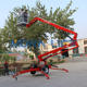 Hydraulic Aerial Man Lift Spider Telescopic Articulated Boom Lift Towable