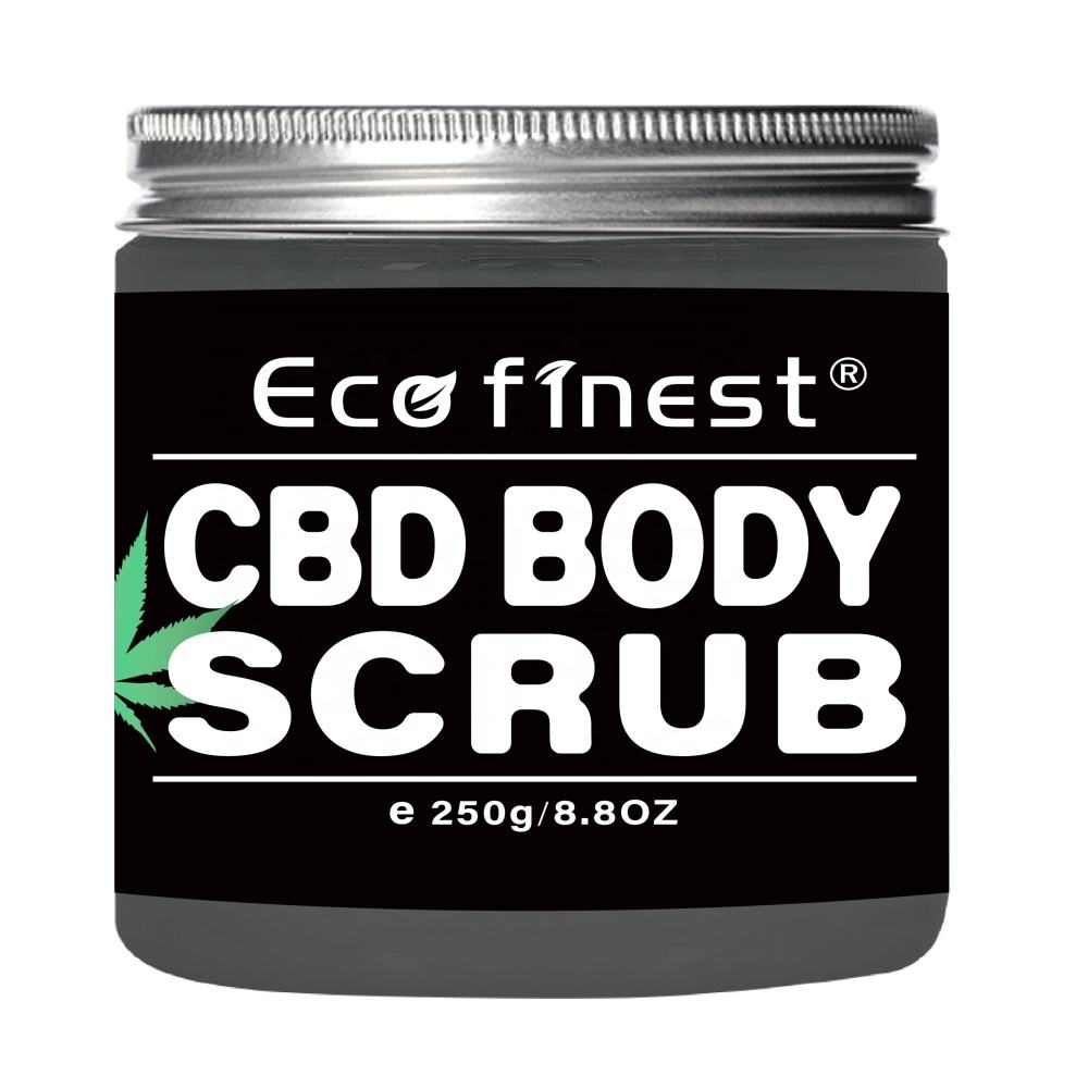 ECO finest CBD Whitening Body Scrub