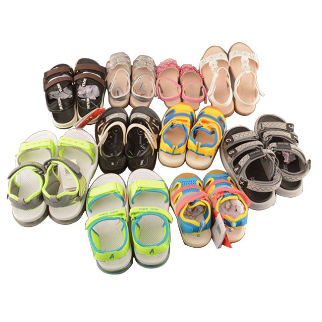 Custom Logo Designer Children's Sandals Girls Shoes For 9 Year Girl