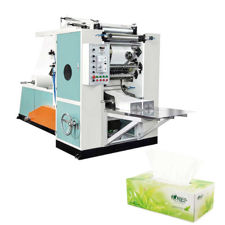 2 lines Automatic Facial Tissue Paper Making Machine & Processing Machine