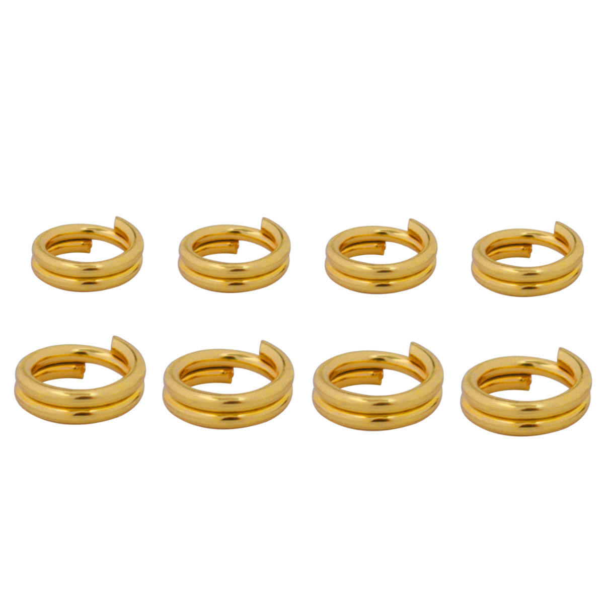 Wholesale Jump Rings Stainless Steel Double Rings DIY Jewelry Findings Accessories