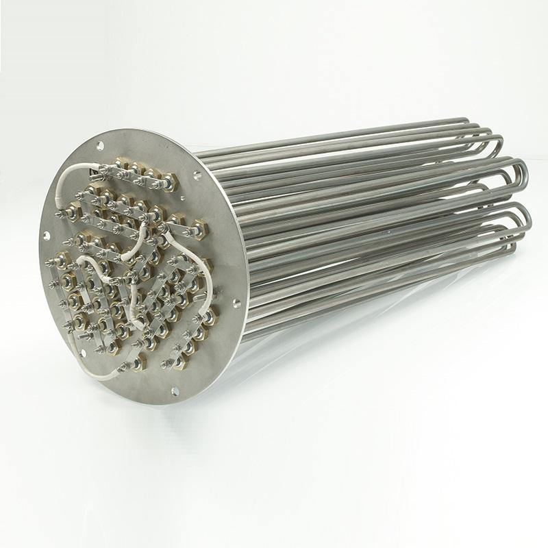 Graphic Customization Electric Heater Heater Electric Power Industrial Heating Element Oil Flange Immersion Heaters