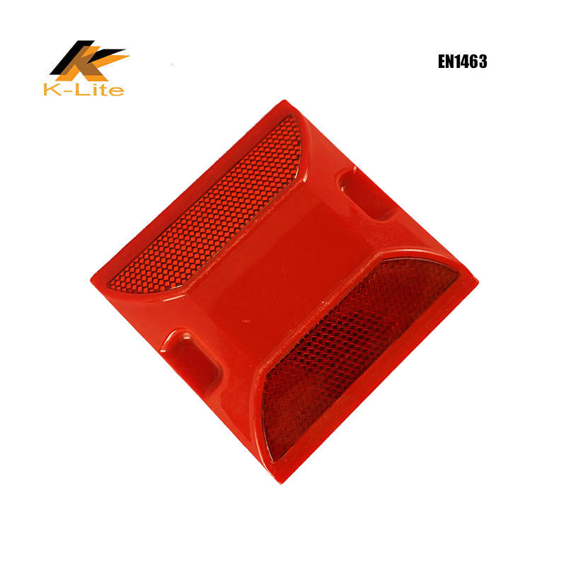Plastic road stud road safety reflector highway road roadway safety reflectors
