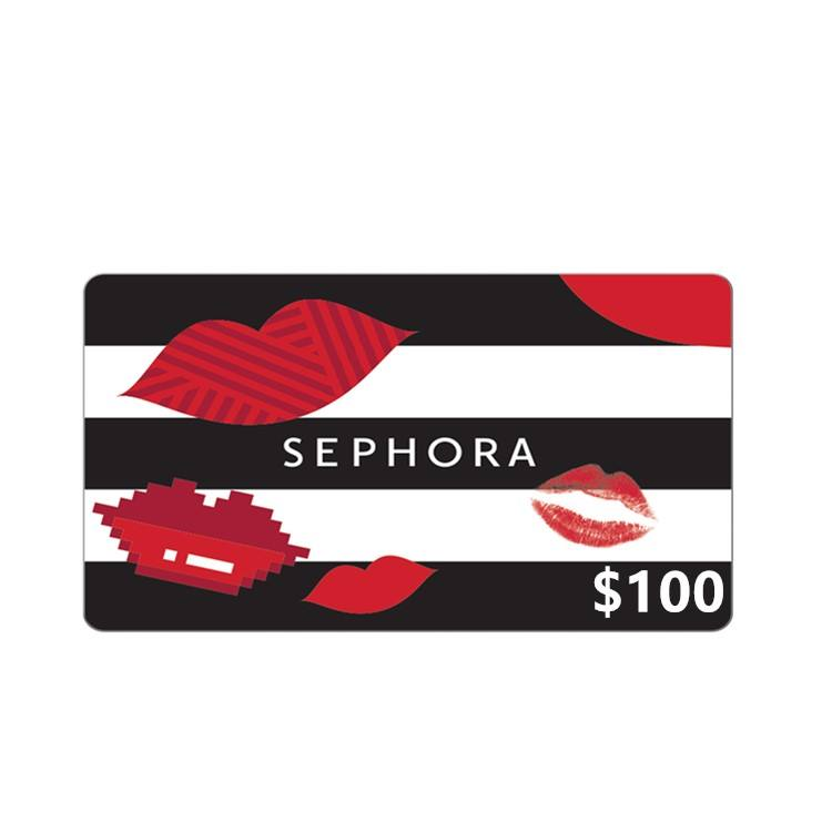 Fast code US region 100US sephora gift card
