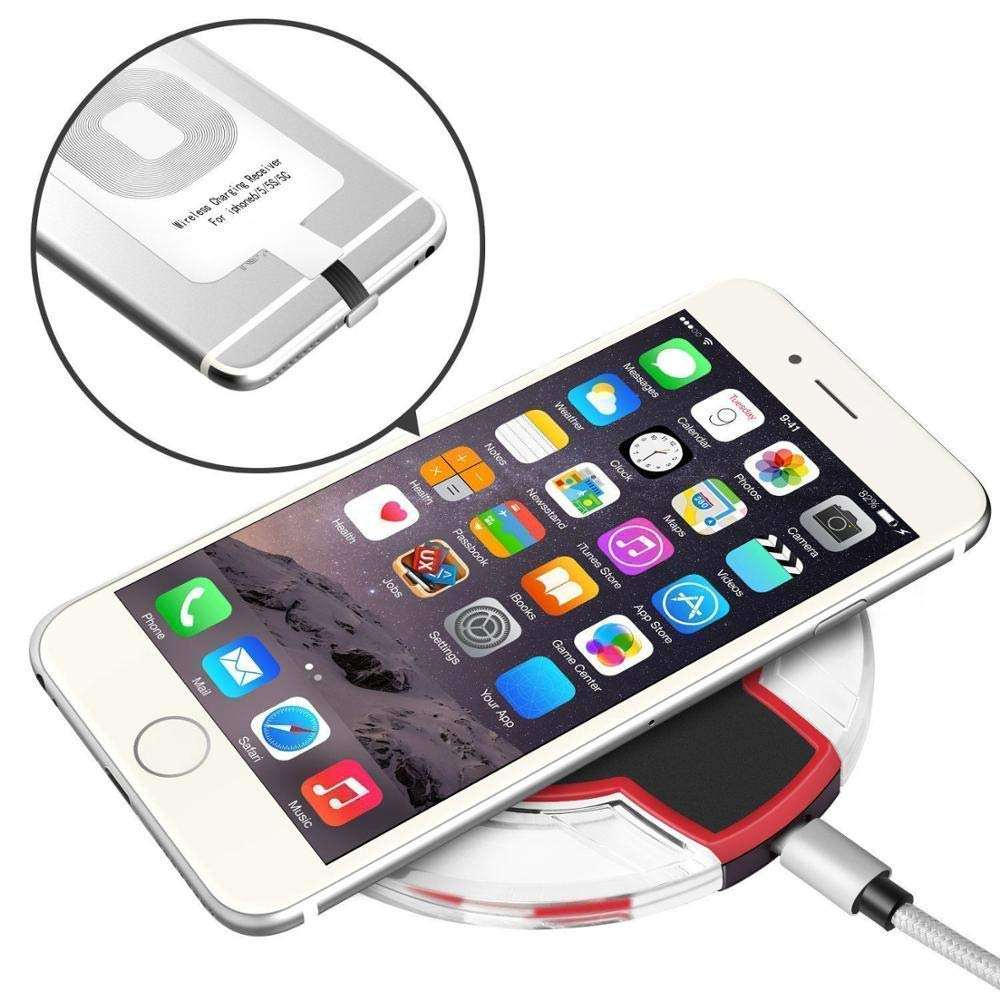 Factory supply cheap K9 wireless charger QI Fast Mobile Phone Wireless Charger