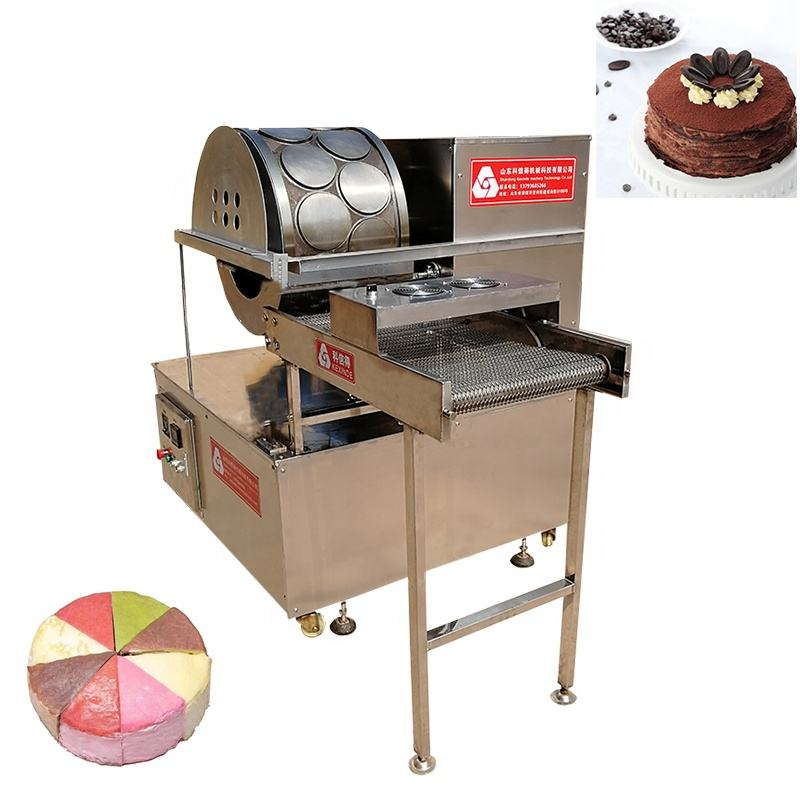 [ Making Machine ] 2020 Hot Sale CE Approved Commercial Mille Crepe Cake Making Machine With Good Price
