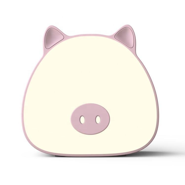 Creative Pig Design 3d Led Night Light Touch Switch Night Light Lamp