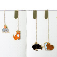 Quality supplier stocked cute custom enamel metal bookmark