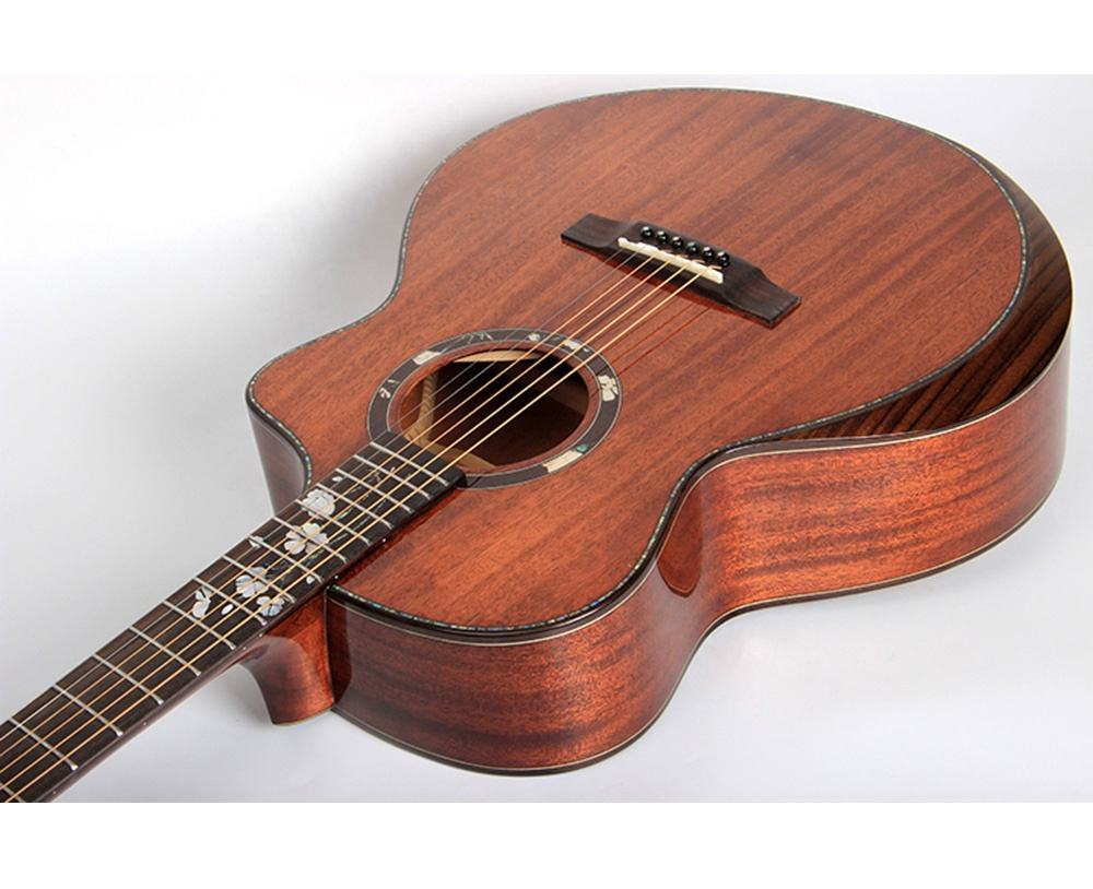 CH-NX-91S Best Price Concert Musical Instrument Chihiro Acoustic Guitar Hot Sale 41 Inch Wholesale For Sale