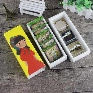 Christmas Hollow Macaron Box Cupcake Container Valentine Chocolate Packing Baking Package Macaron Packing Paper Cake Boxes