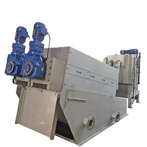 ISO9001 Sludge Dewatering waste management equipment for solid waste treatment