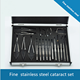 Surgery 21pcs Stainless Steel Ophthalmic Surgical Kit Cataract Surgery Set Cataract Set
