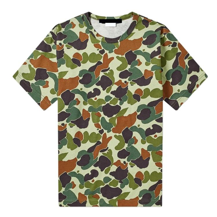 Wholesale High Quality Fashion Woodland Camouflage T Shirt for Man