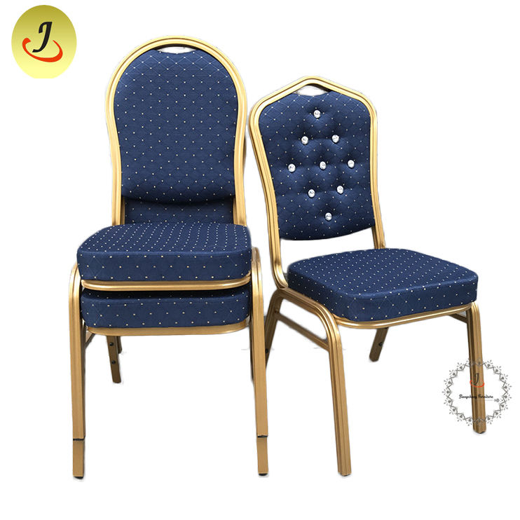 TOP sale modern Hotel Furniture Cheap Used Stacking Banquet Chair