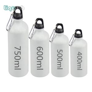 Mida 500ml 600ml 750ml Blank Sublimation water bottle aluminum sport bottle for Summer Outdoor Camping Cycling