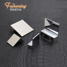 Modern simple square small handle for  drawer wine cabinet shoe cabinet door zinc alloy  hardware 32mm