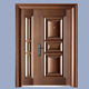 Out simple indian main door iron china designs double leaf steel security copper door price