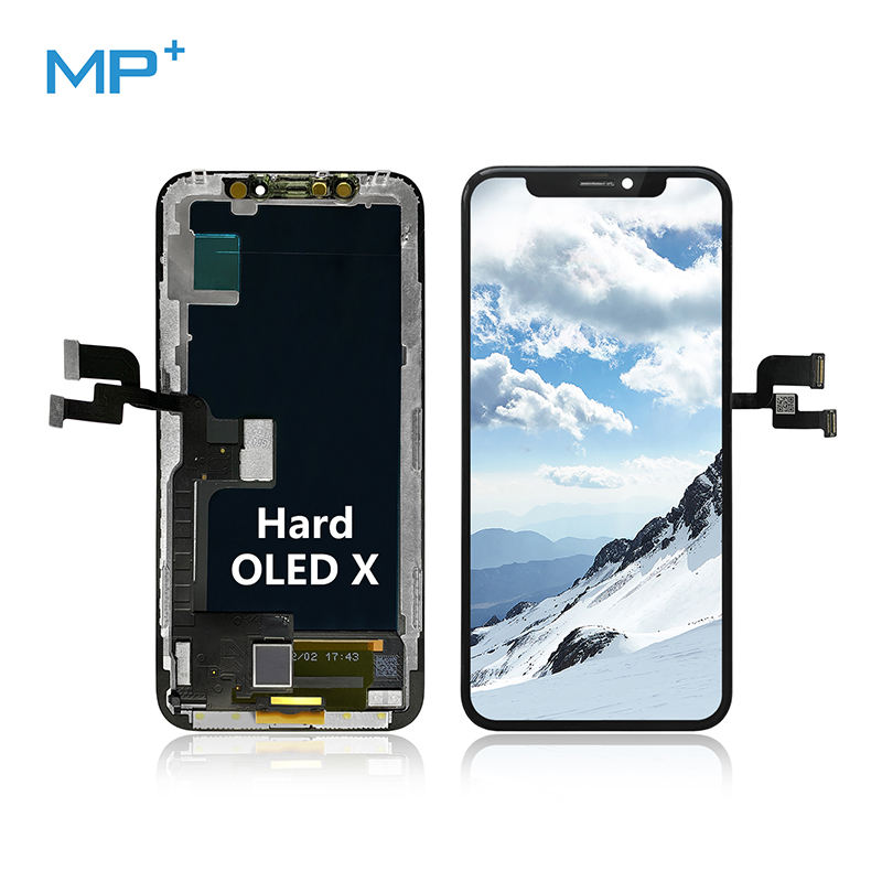 Fast Delivery for iPhone X Digitizer, Mobile LCD Screen, Cell phone repair Hard OLED touch Display For iPhone X LCD Assembly