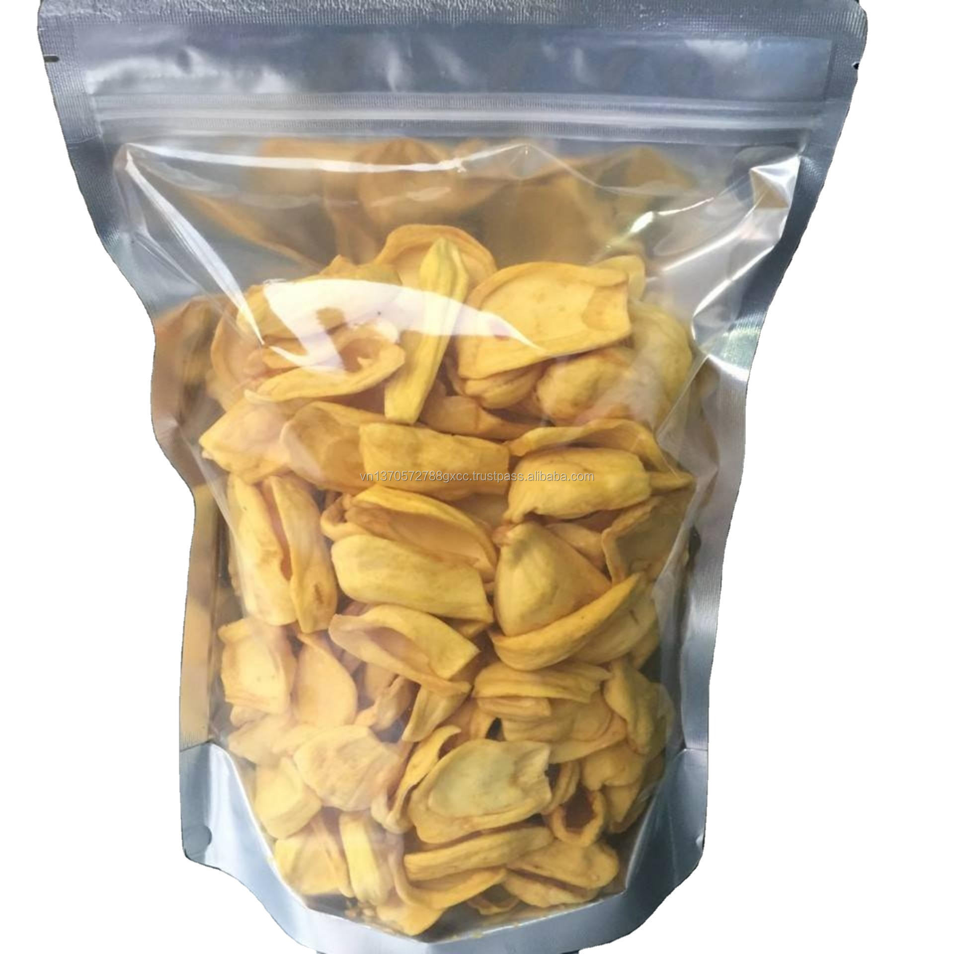 Wholesale price natural sweet crunchy dried fruit chips jack fruit from Vietnam