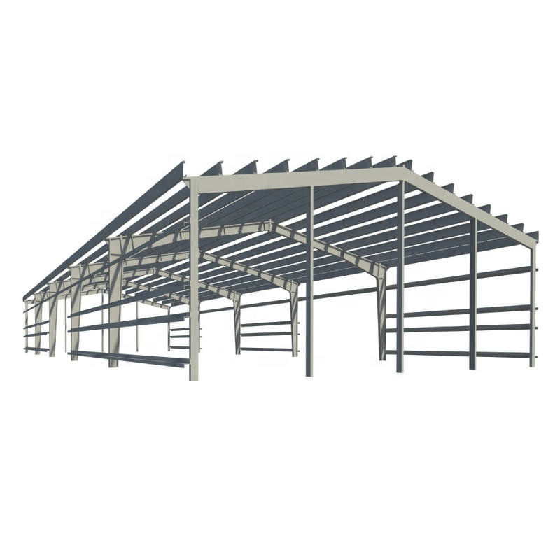 Warehouse construction prefabricated steel structure building material buy from China at low prices