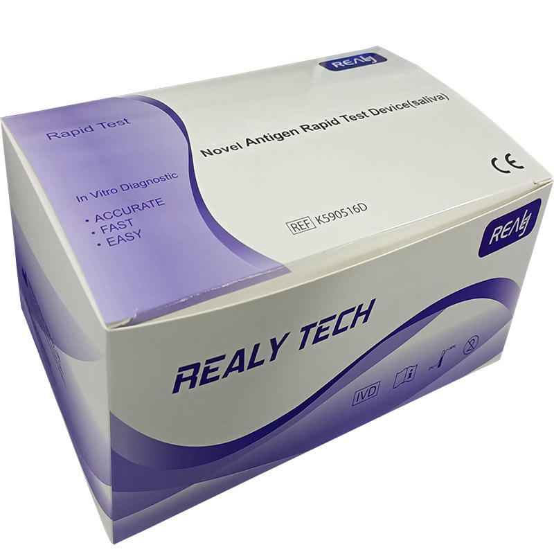 Realme Tech-dispositif de Test rapide, Antigen, Test de salive, version mondiale