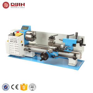 Hot sell hobby small metal lathe 550W mini metal lathe machine