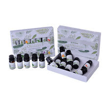 Amazon Hot Selling Factory Best Aromatherapy Top 6 Essential Oils 100% Pure & Therapeutic grade Basic Sampler Gift Set