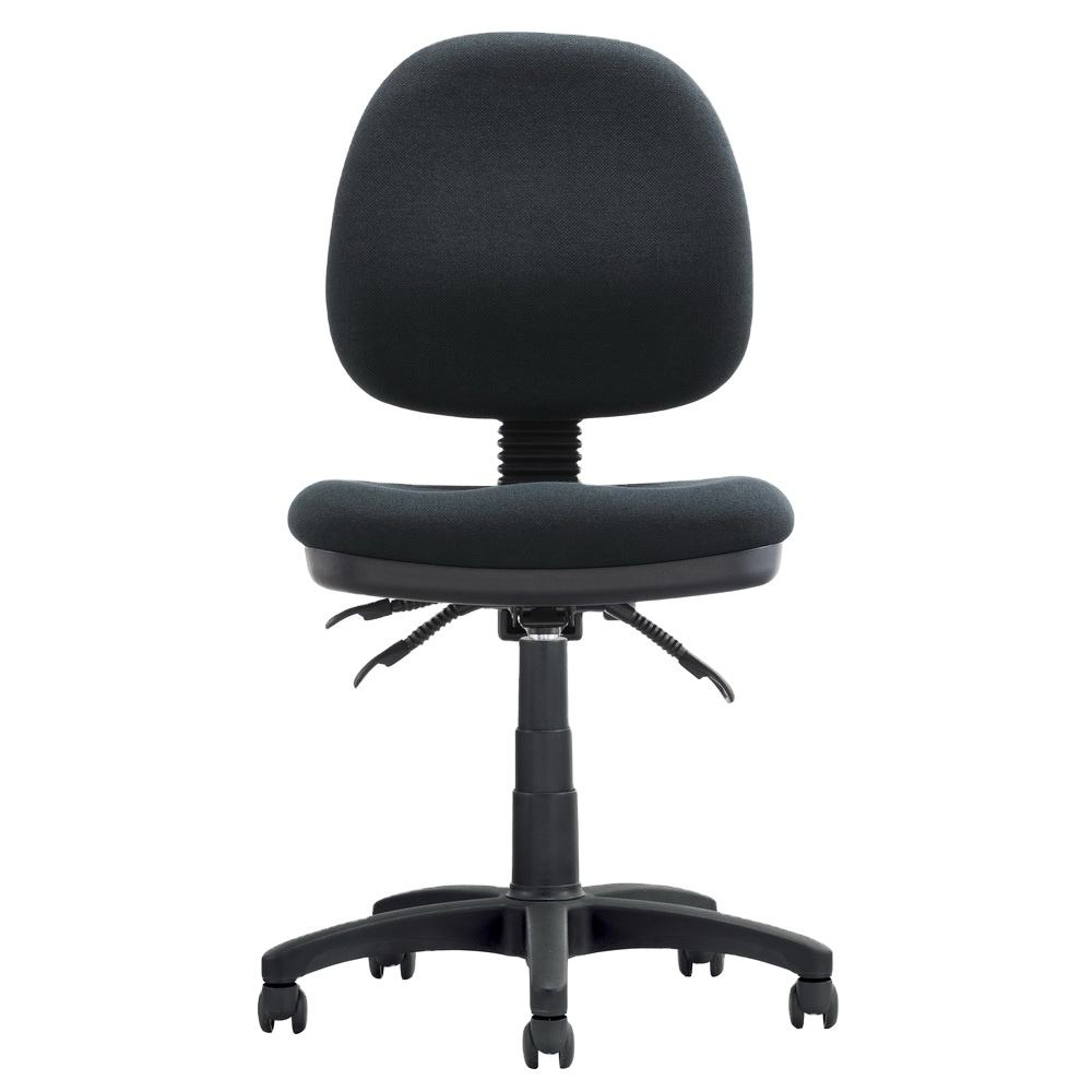 Chair Gaming Computer Furniture No Arm Fabric Ergonomic Staff Modern Office