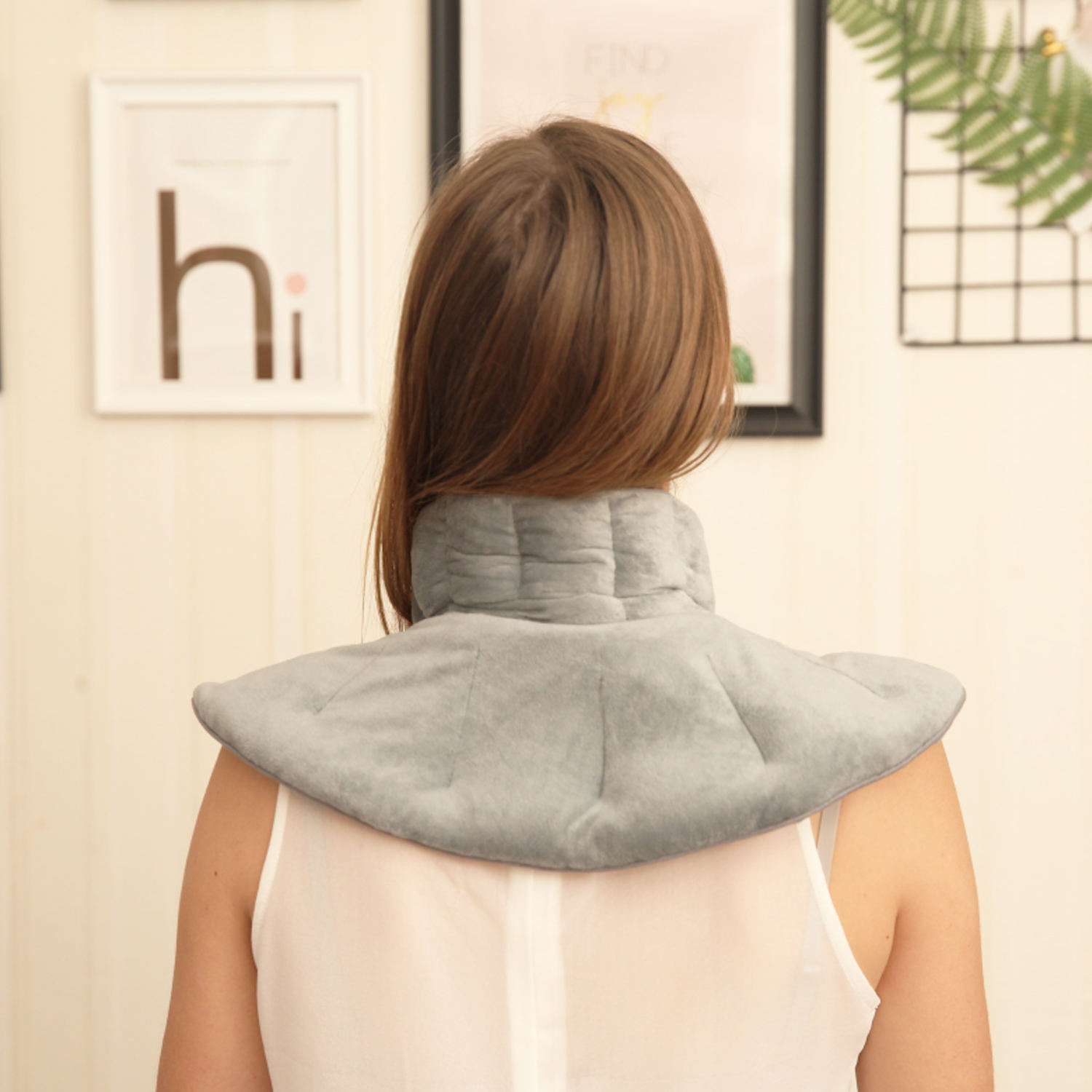 soft health shoulder neck wrap microwave herbal pillow
