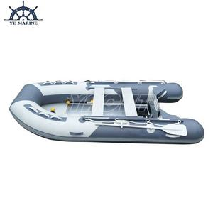 3.6m Small Tender Foldable Aluminum Floor Inflatable Rescue Boat