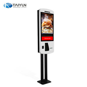 32 inch self-service touch screen Kiosk, betaling kiosk kaartautomaat voor Cinema